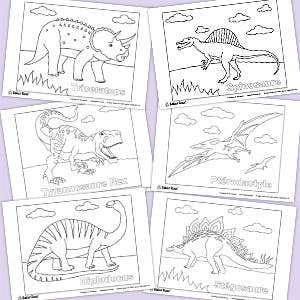 imprimables-gratuit-dinosaures