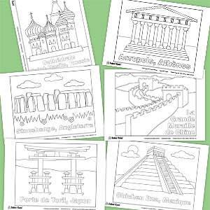 imprimable-gratuit-monuments