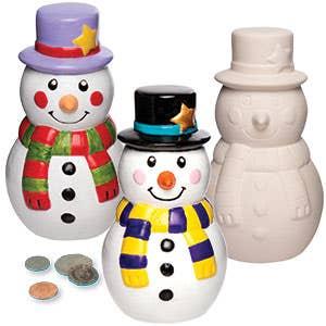 Flocons et bonhommes de neige