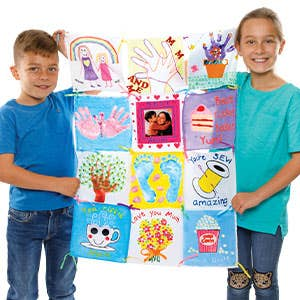 Mother's Day Fabric Painting Crafts