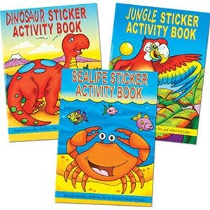 Activity Books and Stationery